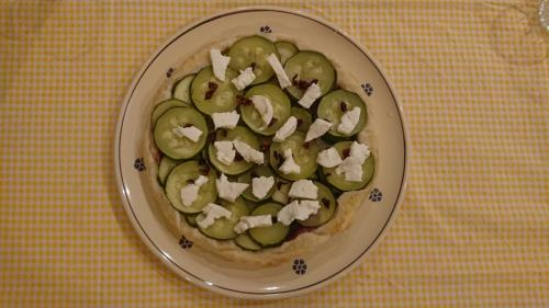 torta di zucchine e speck