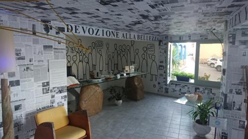 hotel-atelier Fiumara d'Arte, Castel di Tusa