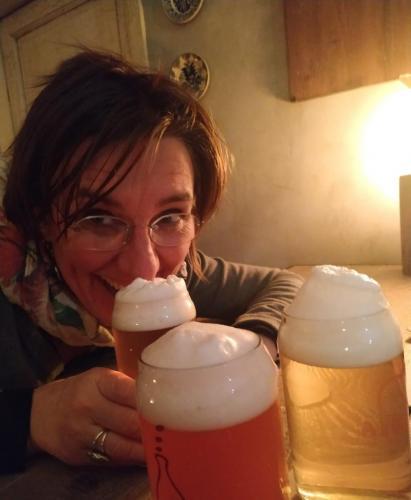 mi piace anche la birra
