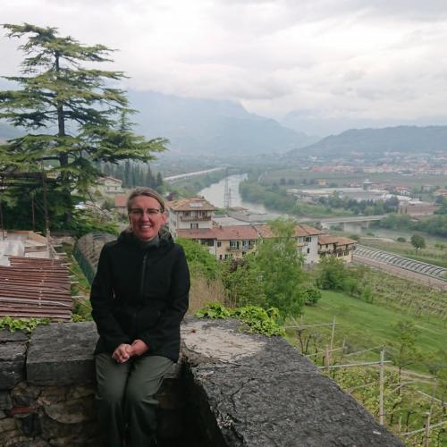 io e la valle dell'Adige