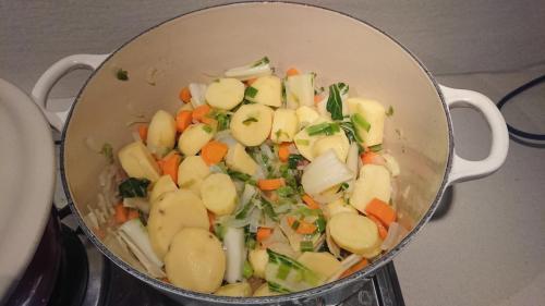 ..aggiungere le patate