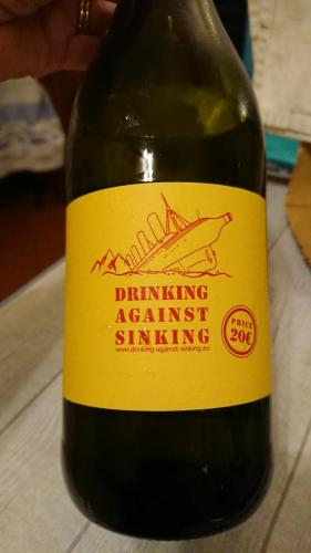 Drinking against sinking: cade a pennello