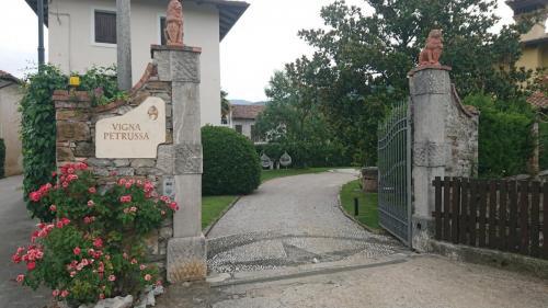 Vigna Petrussa, ingresso